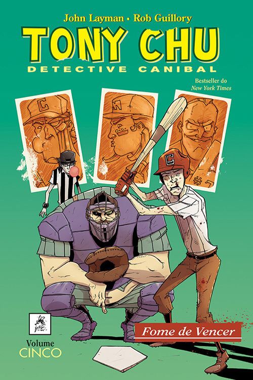 Tony CHU Detective Canibal vol. 5 : Fome de Vencer