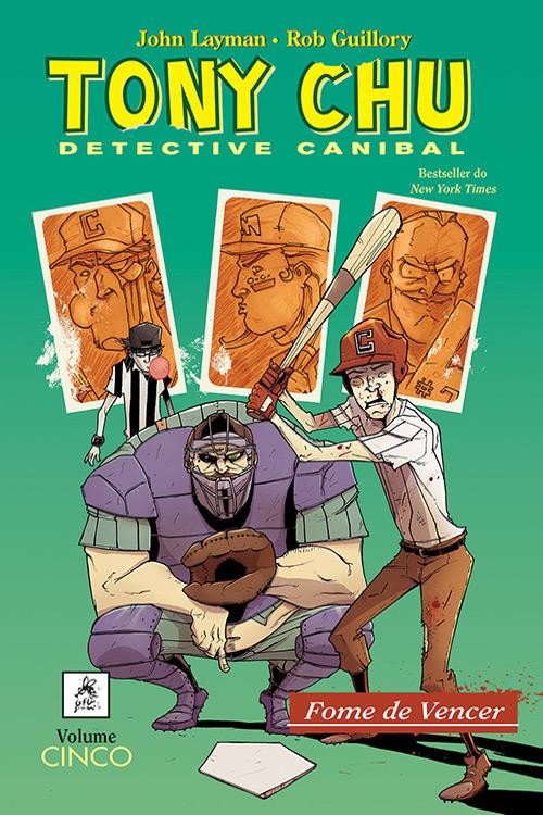 Tony CHU Detective Canibal vol. 5 : Fome de Vencer