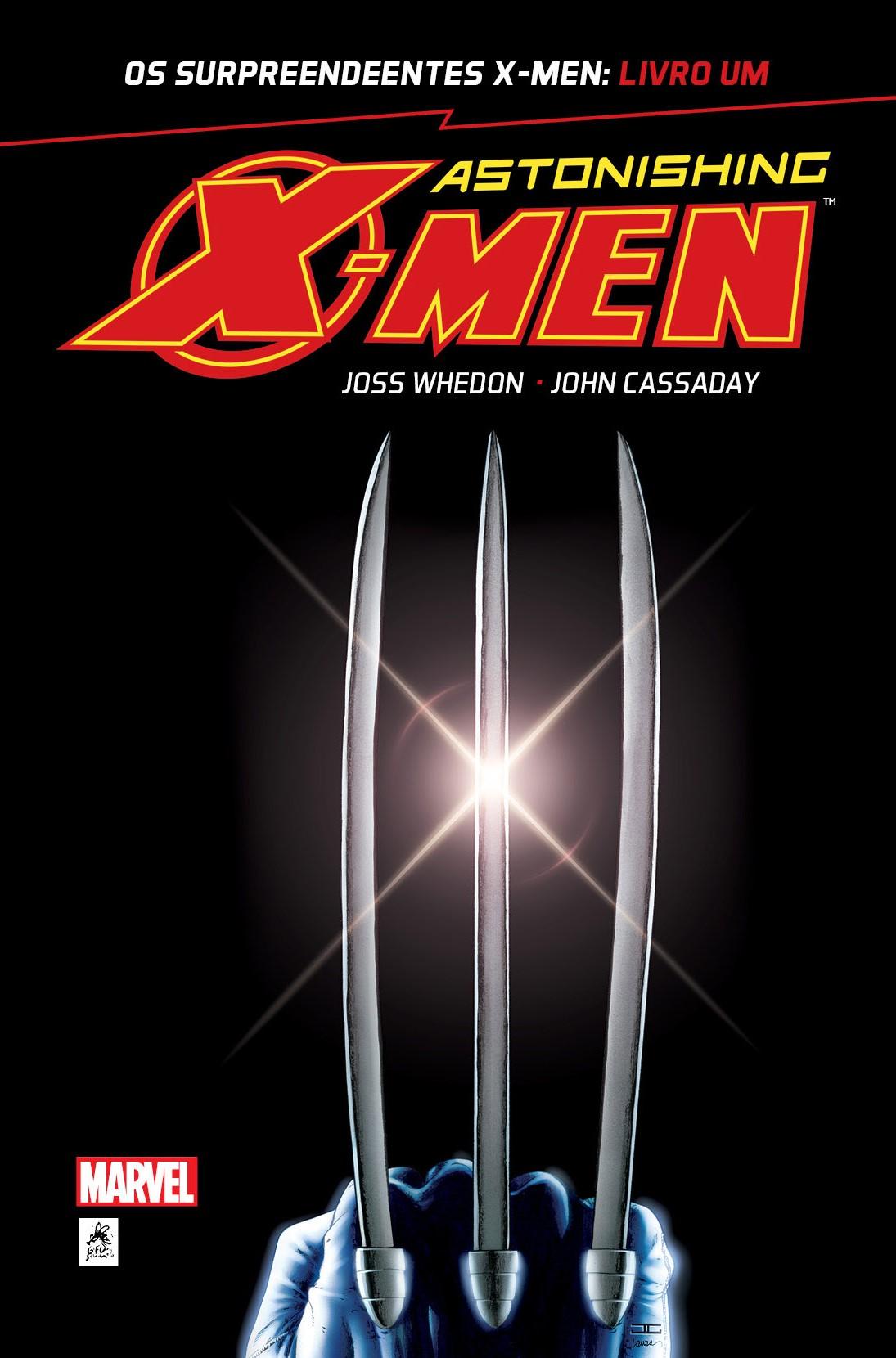 OS SURPREENDENTES X-MEN: LIVRO UM
