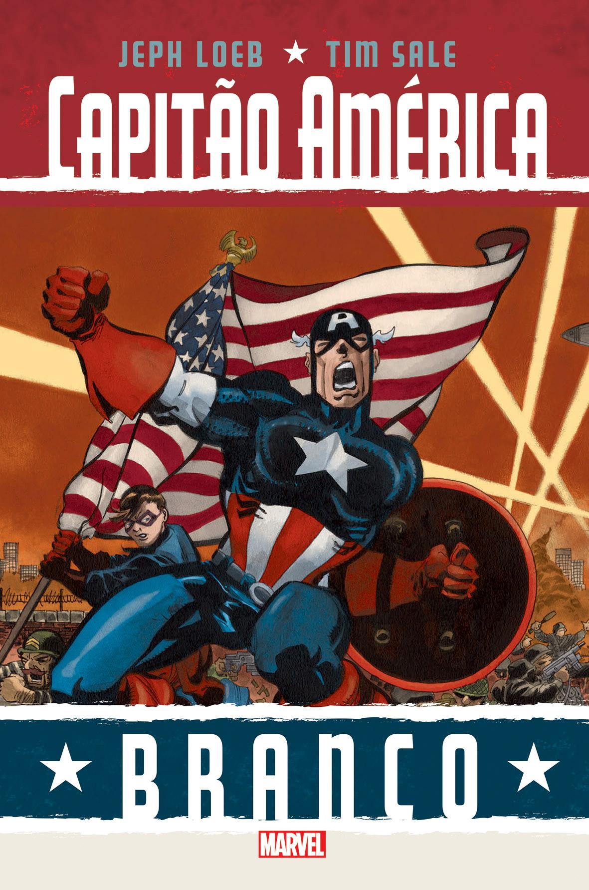 Capitão América: BRANCO (Colecção MARVEL)