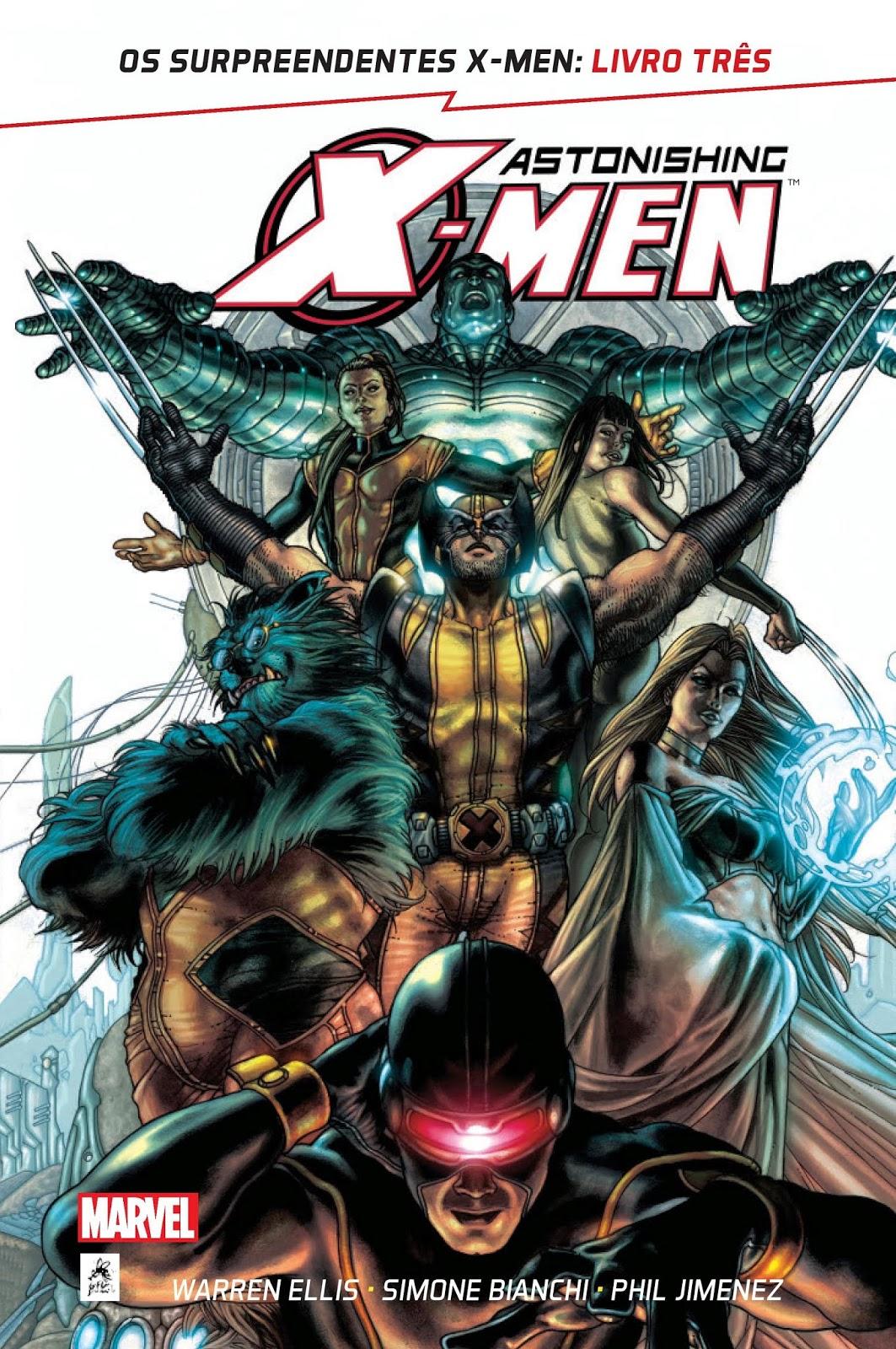 OS SURPREENDENTES X-MEN: LIVRO TRÊS