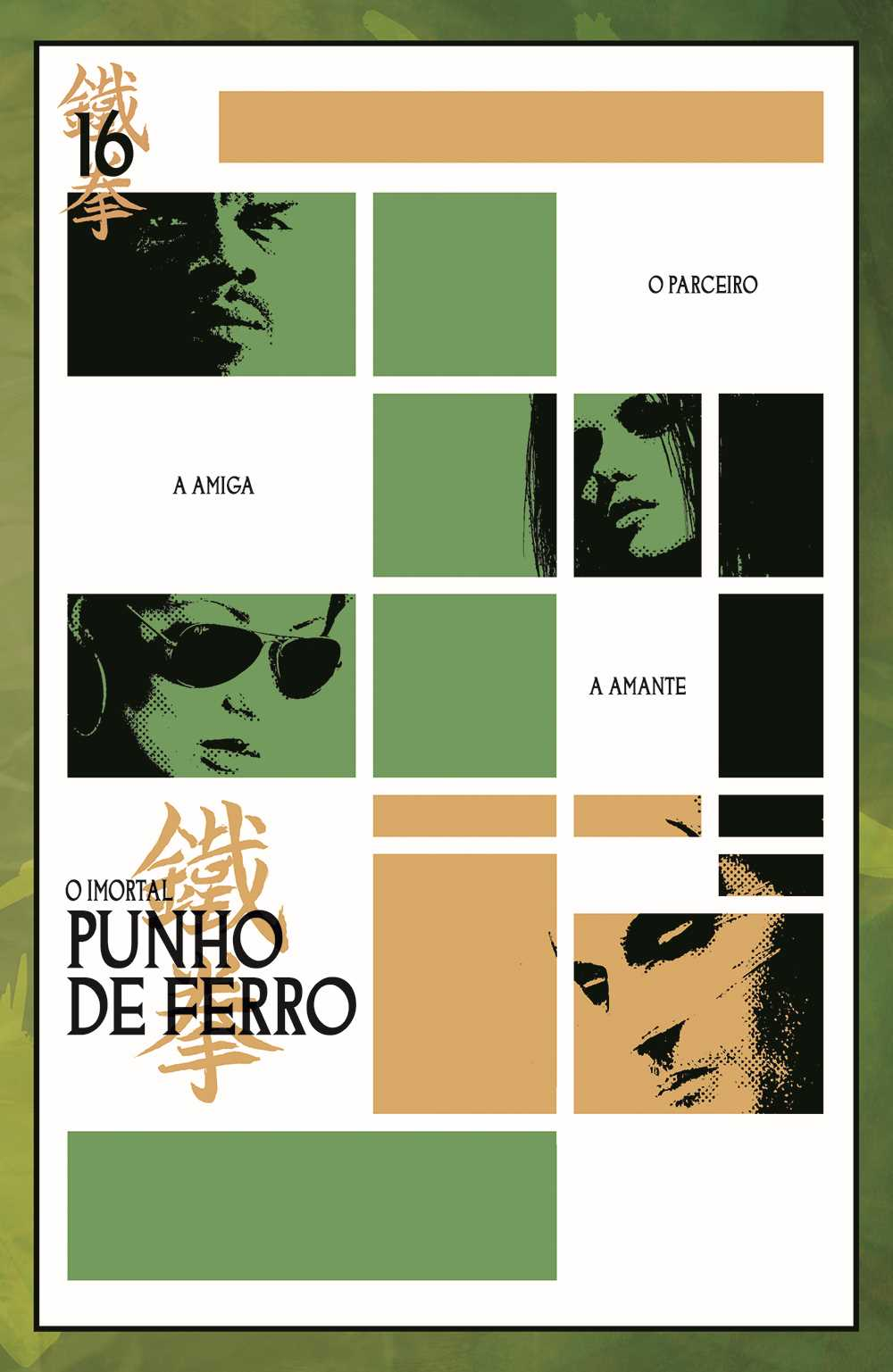 IMORTAL PUNHO DE FERRO vol. 3: O LIVRO DO PUNHO DE FERRO