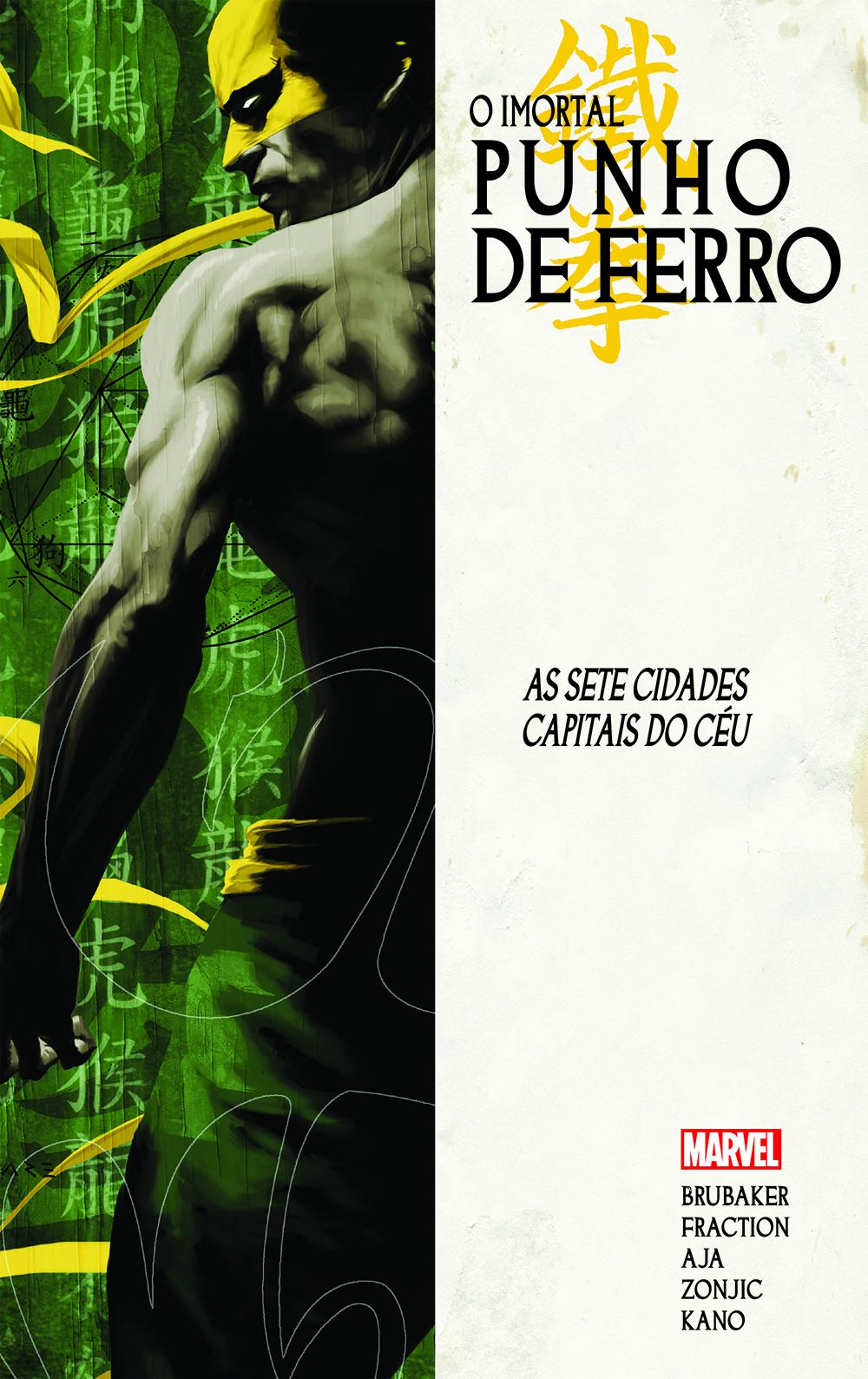 IMORTAL PUNHO DE FERRO vol. 2: AS SETE CIDADES CAPITAIS DO CÉU