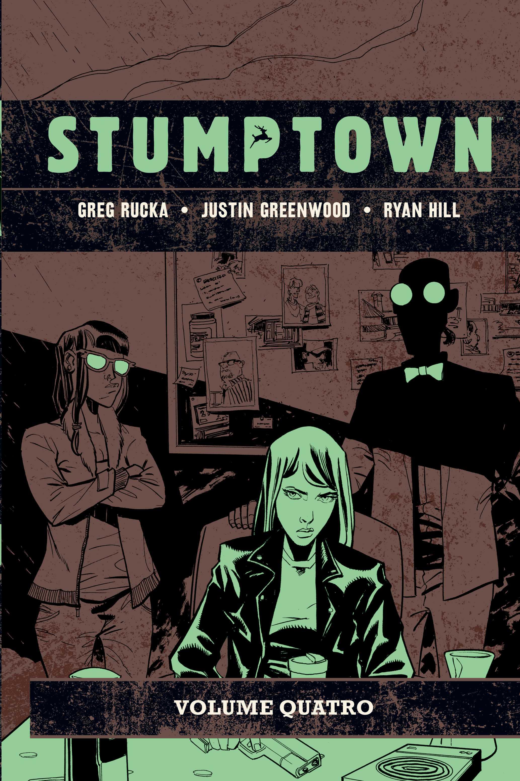 STUMPTOWN Vol. QUATRO: O Caso da Chávena de Café