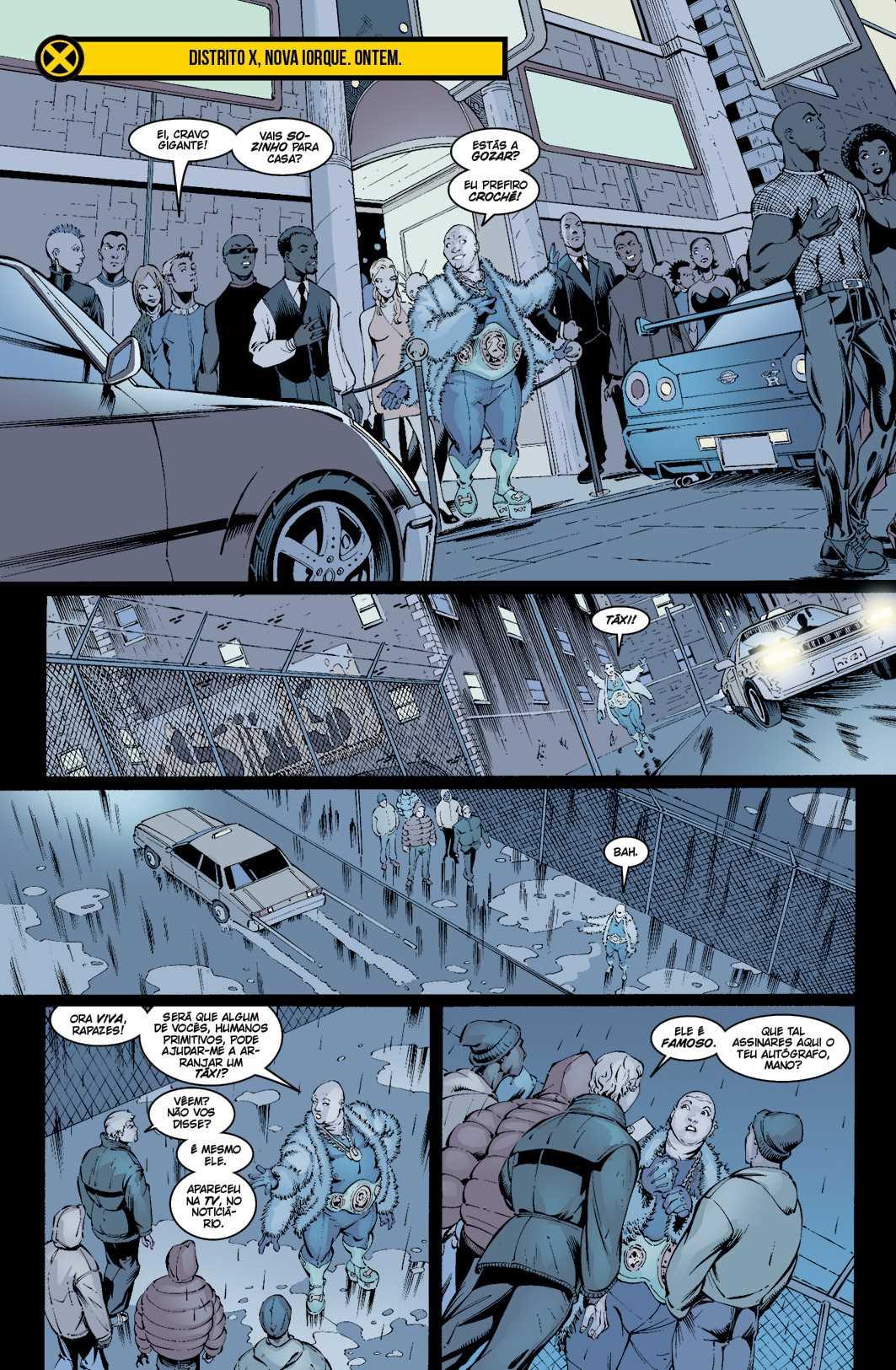 NOVOS X-MEN vol. 3: Ómega