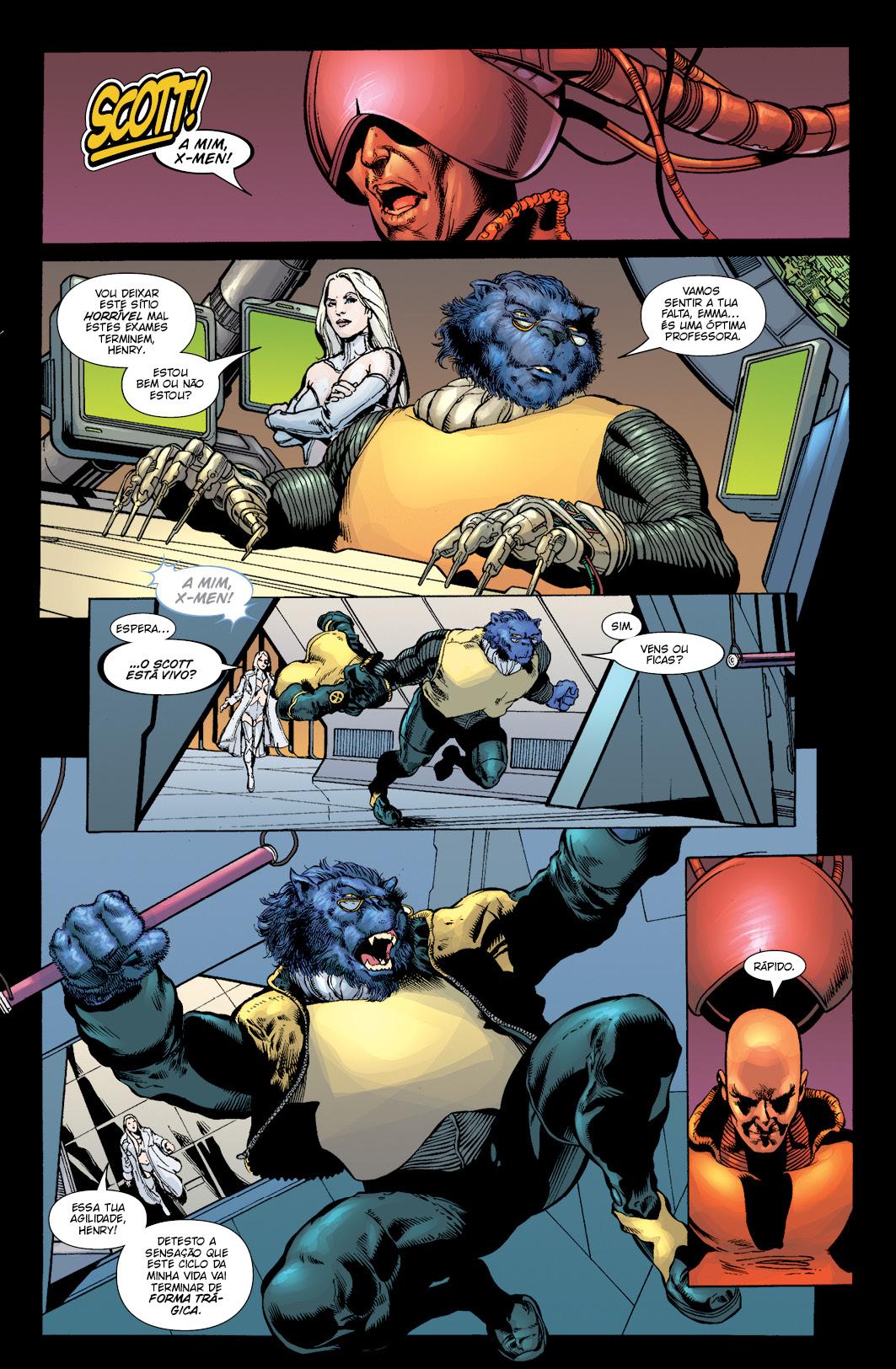 NOVOS X-MEN vol.4: Planeta X