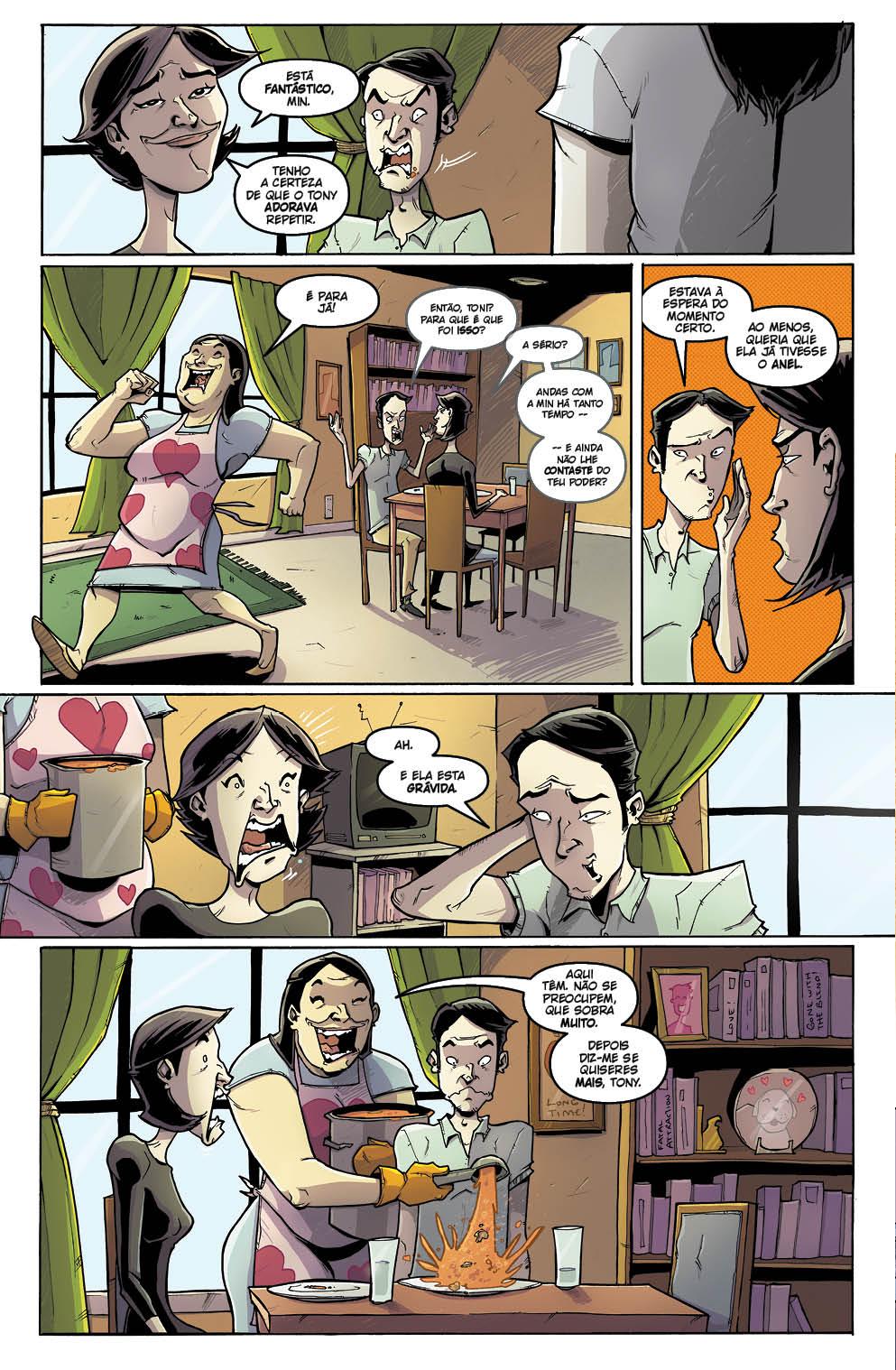 Tony CHU vol. 8: Receitas de Família