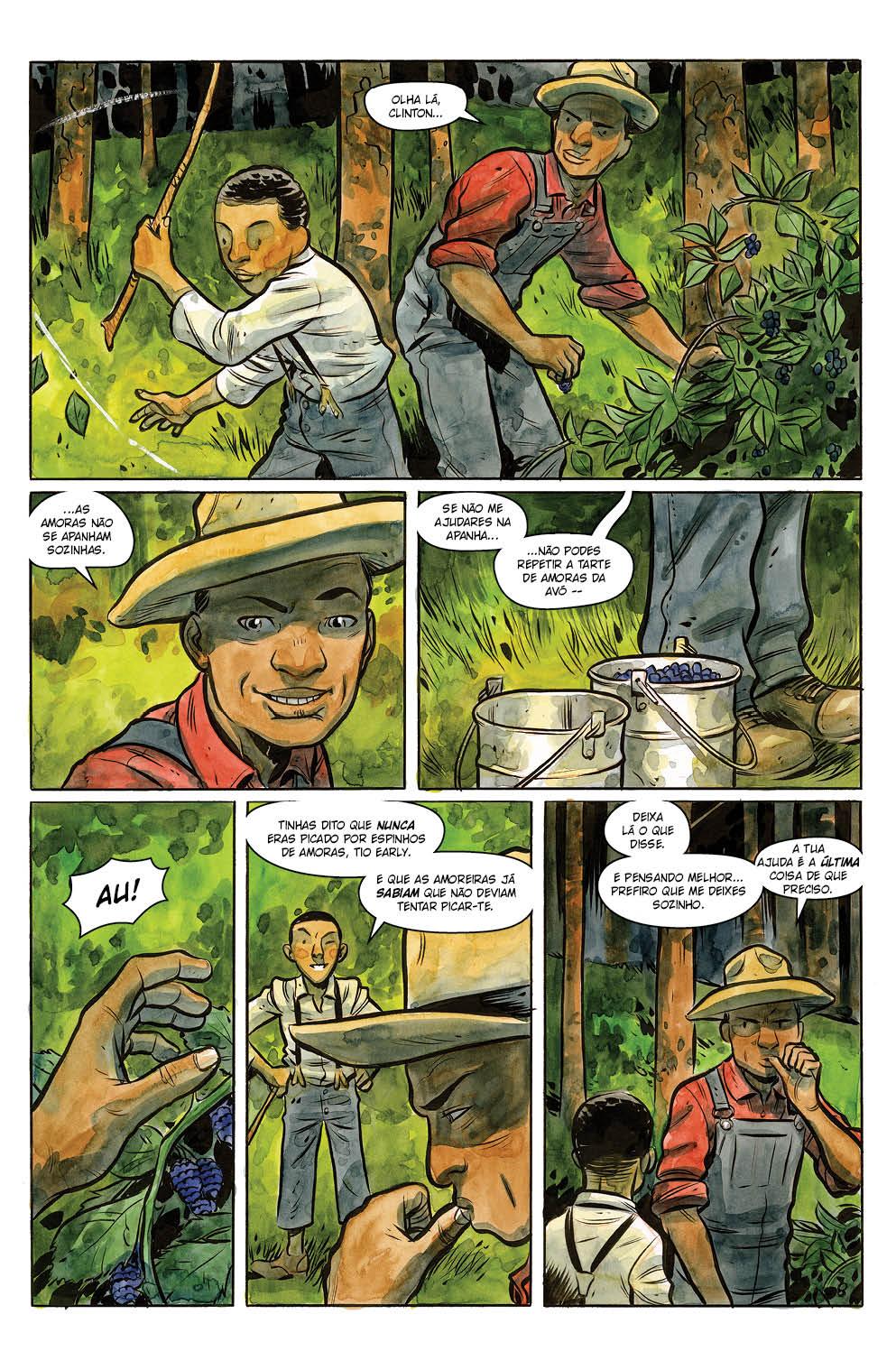 HARROW COUNTY volume 3: A Encantadora de Serpentes