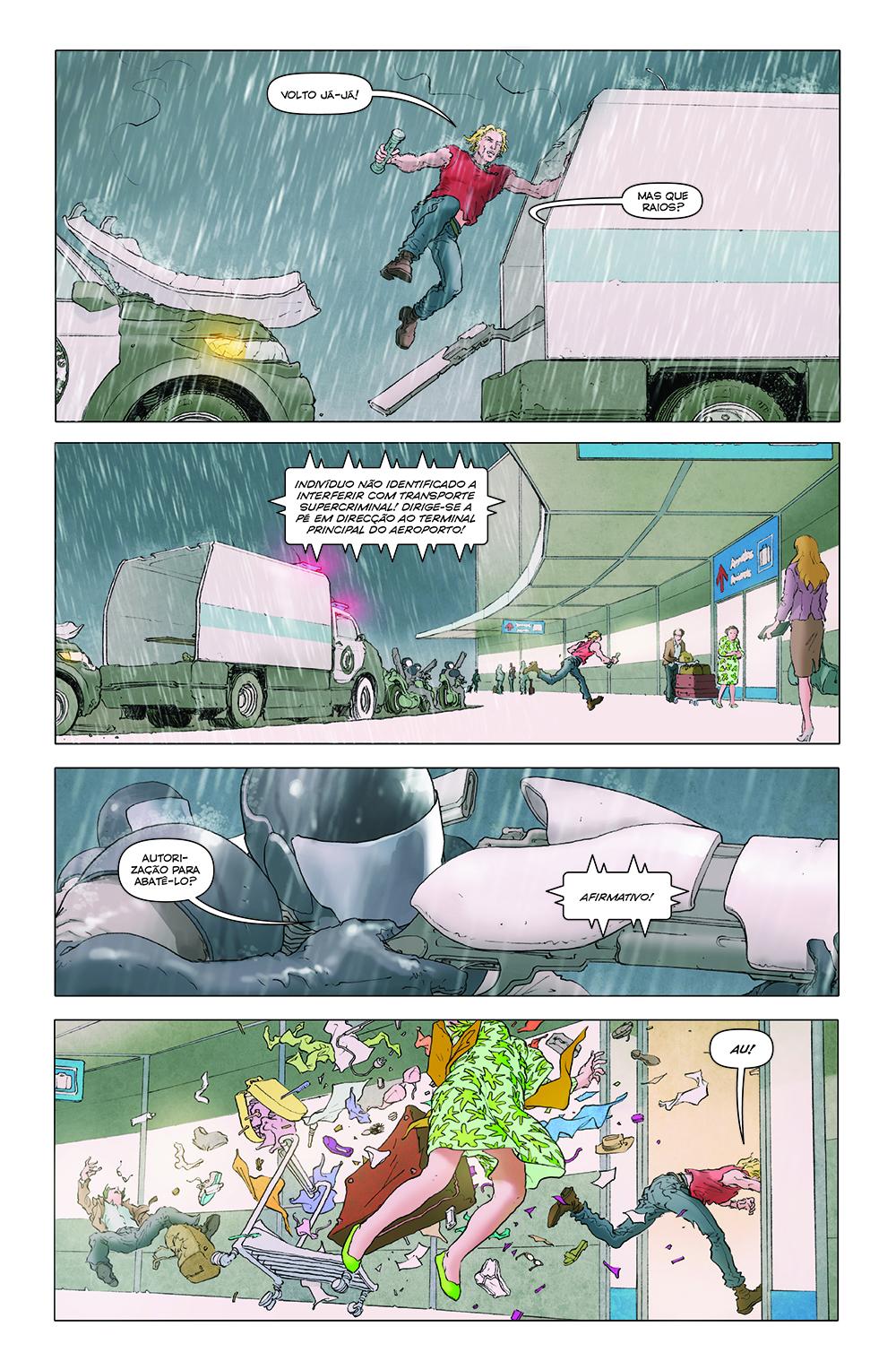 O LEGADO DE JÚPITER vol. 2: REVOLTA