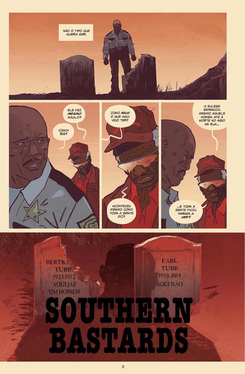 SOUTHERN BASTARDS vol. 3: REGRESSOS