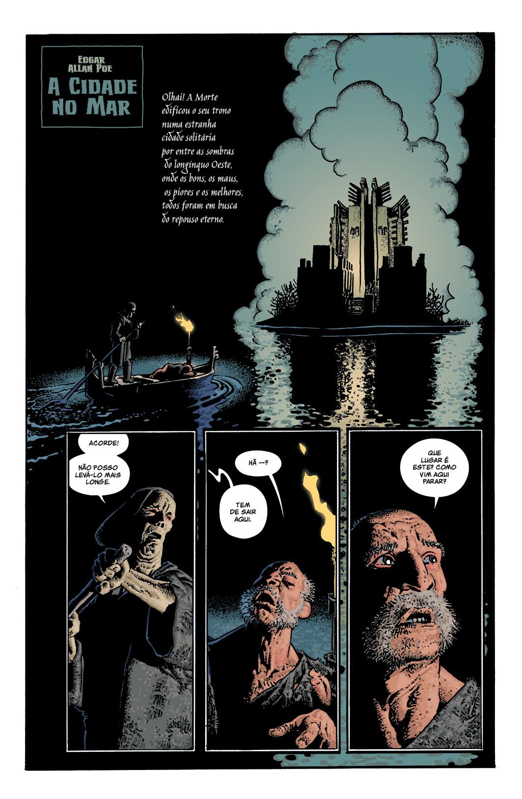 Espíritos dos Mortos, de Edgar Allan Poe